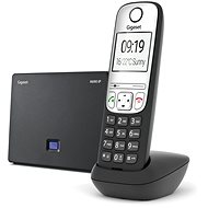 Gigaset A690IP stříbrná - IP telefon