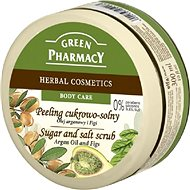 GREEN PHARMACY Cukrový peeling se solí Arganový olej a Fíky 300 ml - Peeling