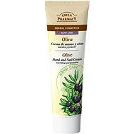 GREEN PHARMACY Krém na ruce a nehty Olivy vyživuje a chrání 100 ml - Krém na ruce