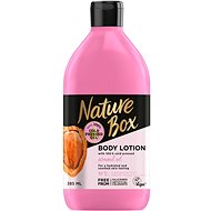 NATURE BOX Body Lotion Almond Oil 385 ml - Tělové mléko
