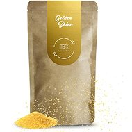 MARK face and body Kávový peeling se třpytkami MARK Golden Shine 150 g - Peeling