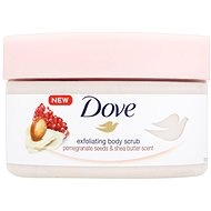 DOVE Pomegranate Seeds & Shea Butter Scent Body Scrub 225 ml - Peeling