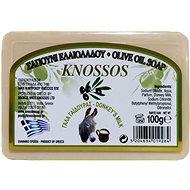 KNOSSOS Řecké olivové mýdlo s oslím mlékem 100 g - Tuhé mýdlo
