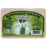 KNOSSOS Řecké olivové mýdlo s vůní aloe 100 g - Tuhé mýdlo