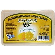KNOSSOS Řecké olivové mýdlo s vůní citronu 100 g - Tuhé mýdlo