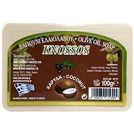 KNOSSOS Řecké olivové mýdlo s vůní kokosu 100 g - Tuhé mýdlo