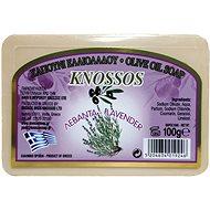 KNOSSOS Řecké olivové mýdlo s vůní levandule 100 g - Tuhé mýdlo