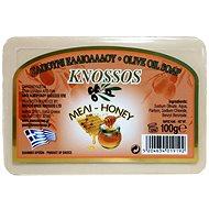 KNOSSOS Řecké olivové mýdlo s vůní medu 100 g - Tuhé mýdlo