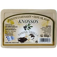 KNOSSOS Řecké olivové mýdlo s vůní vanilky 100 g - Tuhé mýdlo