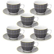 Tognana Set of 6 Tea Cups 200ml with Saucers MADISON SIRACUSA