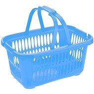 Koš na prádlo Tontarelli Koš s rukojeťmi Cover Line 19,4l na čisté prádlo modrá