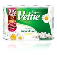 VELTIE Natural Care Camomille (12 ks) - Toaletní papír
