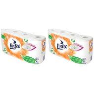 LINTEO Satin Bílý 2× 8 ks - Toaletní papír