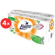 LINTEO Satin Bílý (4 × 16 ks) - Toaletní papír