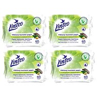 LINTEO  Vlhčený toaletní papír s dubovou kúrou  (4 × 60 ks) - Toaletní papír