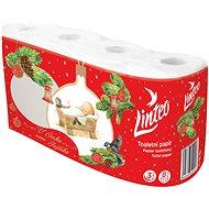 LINTEO vánoční, 3 vrstvý (8 ks) - Toaletní papír