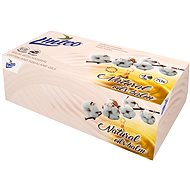 LINTEO Box s balzámem a bavlníkovým olejem, 4 vrstvé (70 ks) - Papírové kapesníky