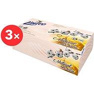 LINTEO Box s balzámem a bavlníkovým olejem, 4 vrstvé (3× 70 ks)
