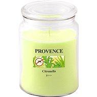 Provence Svíčka ve skle s víčkem 510g, citronela - Svíčka