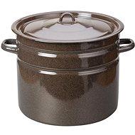 Toro Pot with Enamel Lid 20l, Brown 442827 - Pot