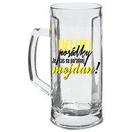 SKLENICE NA PIVO - VELITEL POSÁDKY!, 500 ML - Sklenice na pivo