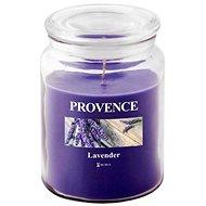 Provence Svíčka ve skle s víčkem 510g, Levandule - Svíčka