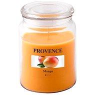 Provence Svíčka ve skle s víčkem 510g, Mango - Svíčka