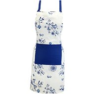 HOME ELEMENTS Kitchen Apron, Blue Onion - Apron