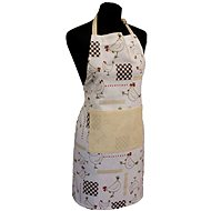 HOME ELEMENTS Kitchen Apron, 60*80cm, Hens - Apron