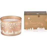 Svíčka ve skle 110x80 mm 3 knoty vonná, v dárkové krabičce Frankincense & Myrrh - Vánoční svíčka