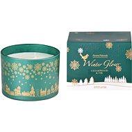 Svíčka ve skle 110x80 mm 3 knoty vonná, v dárkové krabičce Cedarwood & Fir - Vánoční svíčka