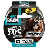BISON GRIZZLY TAPE 10 m stříbrná - Lepicí páska