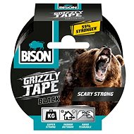 BISON GRIZZLY TAPE 10m Black - Duct Tape