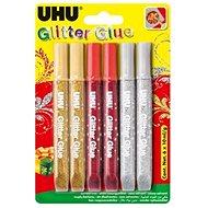 UHU Glitter Glue 6 x 10 ml X-mas - Lepidlo