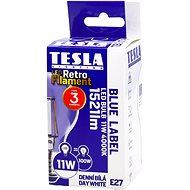 TESLA LED žárovka FILAMENT RETRO, E27, 11W, denní bílá - LED žárovka