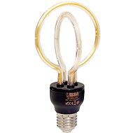 Tesla Design BULB filament E27, 5W, 230V, 250lm, 2300K, 360° lotus - LED žárovka