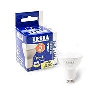 LED žárovka TESLA LED 8W GU10, teplá bílá - LED žárovka