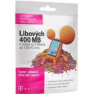 Předplacená karta Twist s Námi 400MB - Mobilní internet