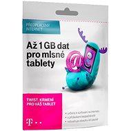 T-Mobile karta až s 1 GB dat pro připojení na internet - SIM karta