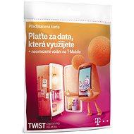 Předplacená karta Twist v síti + data na den - Mobilní internet