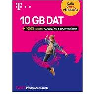 Předplacená karta Twist s Námi 5GB + 100Kč na volání a SMS
