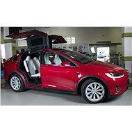 TESLA Model X 100D červená - Elektromobil