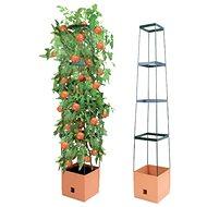 Bio Green - samozavlažovací květináč MAXITOM - terracotta - Květináč