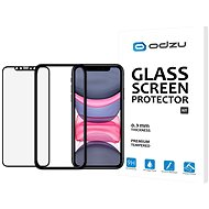 Odzu Glass Screen Protector E2E Kit iPhone 11/XR - Glass protector