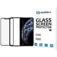 Odzu Glass Screen Protector E2E Kit iPhone 11 Pro Max/XS Max s instalačním rámečkem - Ochranné sklo