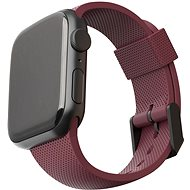 UAG [U] Silicone Strap Aubergine Apple Watch 6/SE/5/4/3/2/1 40/38mm - Řemínek