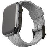 UAG [U] Silicone Strap Grey Apple Watch 6/SE/5/4/3/2/1 44/42mm - Řemínek