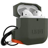 UAG Silicone Case Olive Drab/Orange AirPods