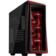 SilverStone Redline RL06BR-GP černo-červená - Počítačová skříň