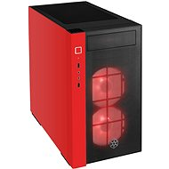 SilverStone Redline RL08 RGB červená - Počítačová skříň